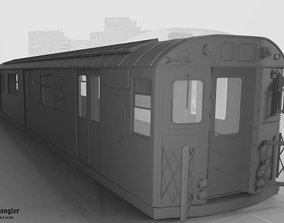 3D model Subway Train Car R36