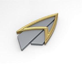3D print model Badge from Star Trek Picard version 2