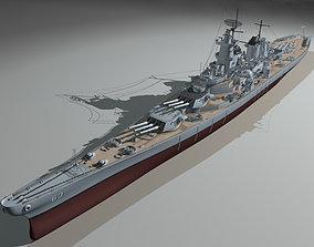 3D Missouri Battleship