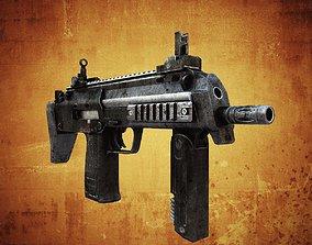 MP7 Submachine gun 3D model