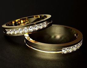 3D printable model Simple Diamond Ring