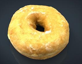 Glass donut 3D model