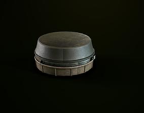 3D model Antipersonnel landmine PMN-4