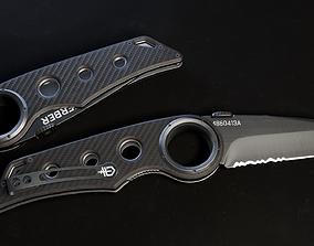 3D asset Gerber Tactical Remix Knife