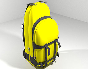 3D model Backpack - Traveler