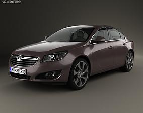 3D Vauxhall Insignia sedan 2012