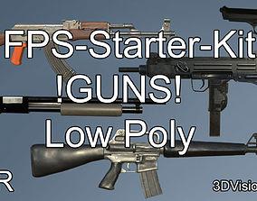 Simple FPS-Starter-Kit 3D model