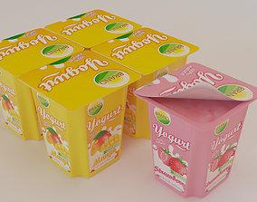 3D Flavoured Yogurt