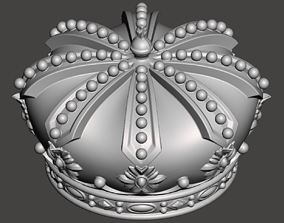 Royal Crown - 3d model for CNC - CFCRoyalCrown01