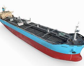 vessel 3D Oil Products Tanker Maersk