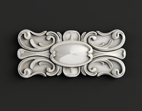 3D model Carved decor central