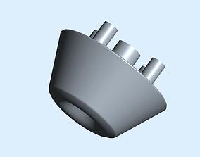 3D printable model Box Riser Foot