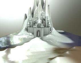 Frozen Castle 3D
