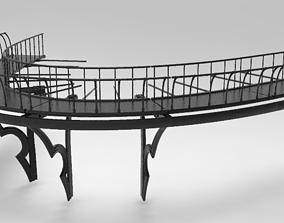 3D model Walkway