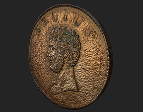 Roman Coin - Britain 3D model