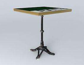 3D BISTRO TABLE SQUARE ARDAMEZ Company table