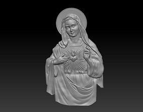 Virgin Mary 3D print model