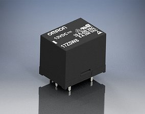 3D PCB Relay OMRON