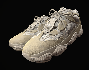 YEEZY 500 - Desert Rat - Kanye West - Streetwear 3D model