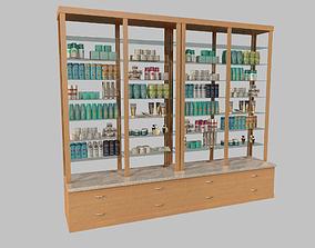 3D model Cosmetics Stand vol3