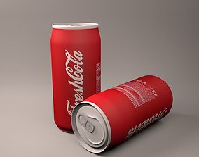 FreshCola Beverage Can 3D asset
