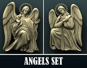 3d STL Model for CNC Router Angel