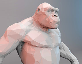 KINGKONG LOWPOLY 3D asset