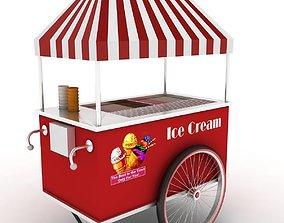 Ice Cream Cart 3D summer