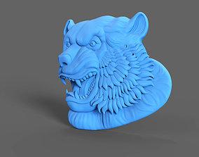 Tiger Relief 3D printable model
