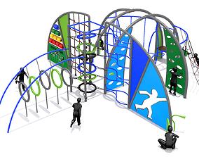 3D model Wave Playground