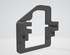 3D print model Wing servo holder for HITEC HS-5065 MG or