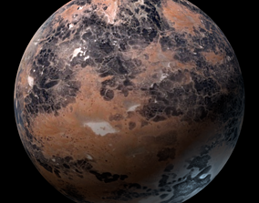 Planet Klendathu 3D model