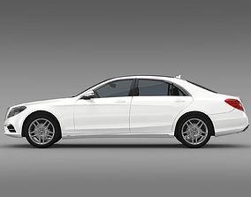 AMG Mercedes Benz S 500 Lang V222 2016 3D model