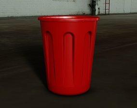3D print model Plastic bucket