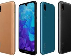 Huawei Y5 2019 All Colors 3D model