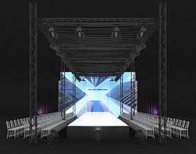 Fashion Catwalk 002 3D model
