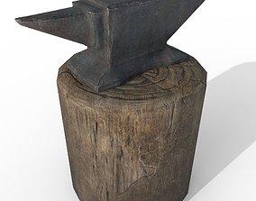 Anvil and Sledgehammer 3D model