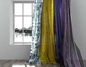 3D model Curtains rope