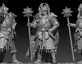 great warrior 3D asset