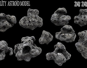 3D model Astroid set 1
