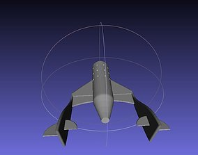 Virgin Galactic Space ship two 3D