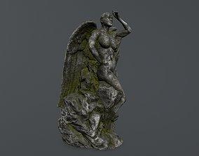 3D model realtime woman statue 1