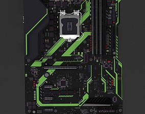 3D Motherboard entrails