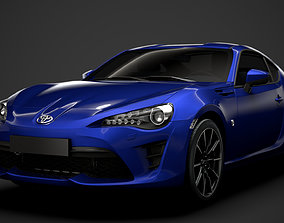 Toyota G 86 2016 3D
