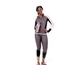 Woman in Track Suit CWom0221-HD2-O02P02-S 3D model