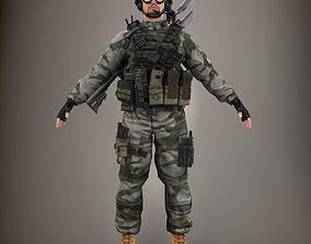 Ultimate Soldier NR 3D model