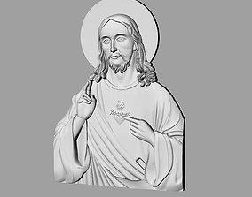 3d Jesus pendant 3D