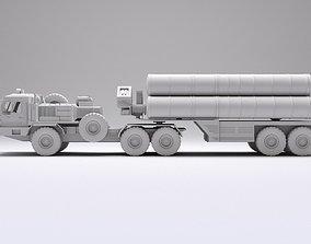 3D asset C500 C400 Russian Nuclear missile launcher