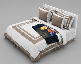 Bed collection 3D cushion