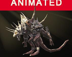 3D asset Demon